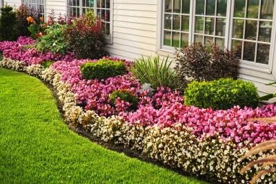 Flower Bed Designs Ryno Lawn Care Llc