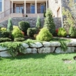 landscaping services grapevine stone work garden borders