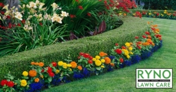 garden landscaping by ryno lawn care
