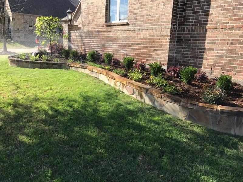 garden landscaping install