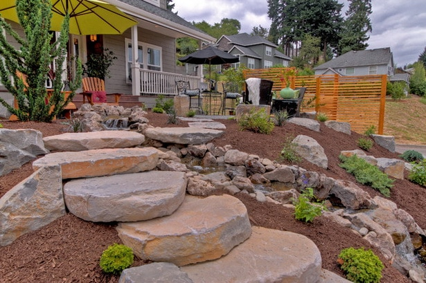 Stepping Stone Walkway Ideas Ryno Lawn Care LLC