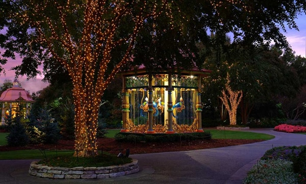 The 12 Days of Christmas at the Dallas Arboretum