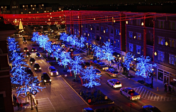 Christmas in the Square in Frisco