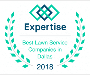 Awarded Best Dallas Lawn Service Company in 2018