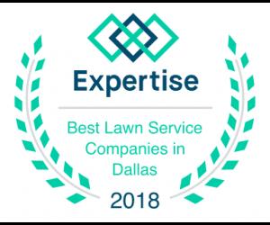 Awarded Best Dallas Lawn Service Company in 2018