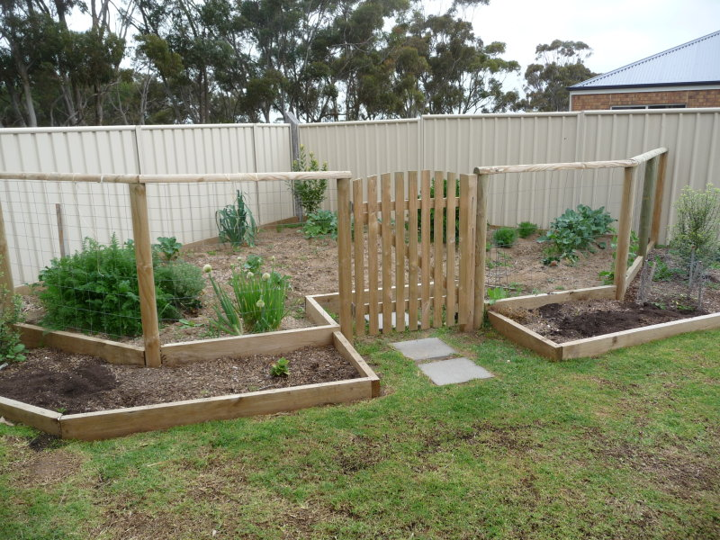 Fenced ryno lawn care llc for Vegetable patch design ideas