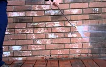 How To Pressure Wash A Retaining Wall