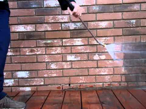 How to pressure wash a retaining wall ryno lawn care llc - How to clean house exterior before painting ...