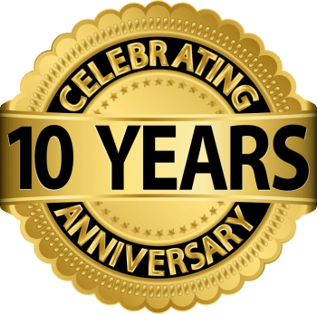 10 years lawn service